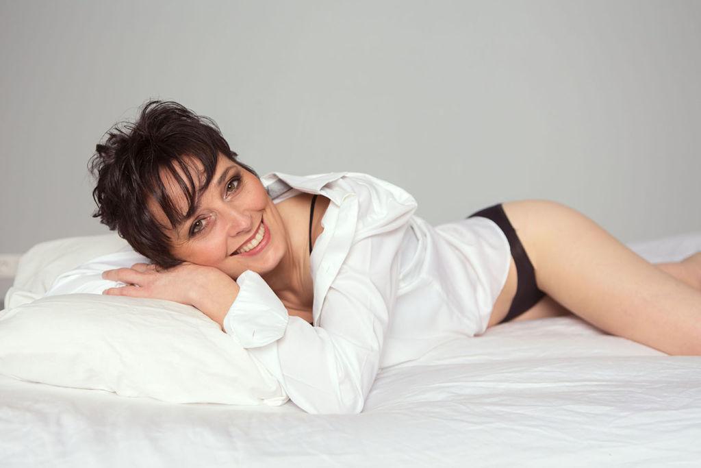 boudoir : séance photo sexy, en lingerie, à Châteaudun